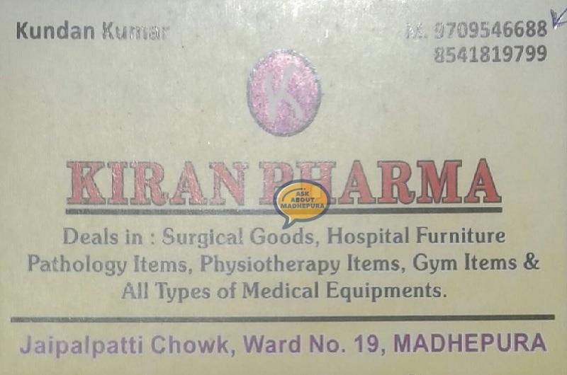 Kiran Pharma - Ask About Madhepura